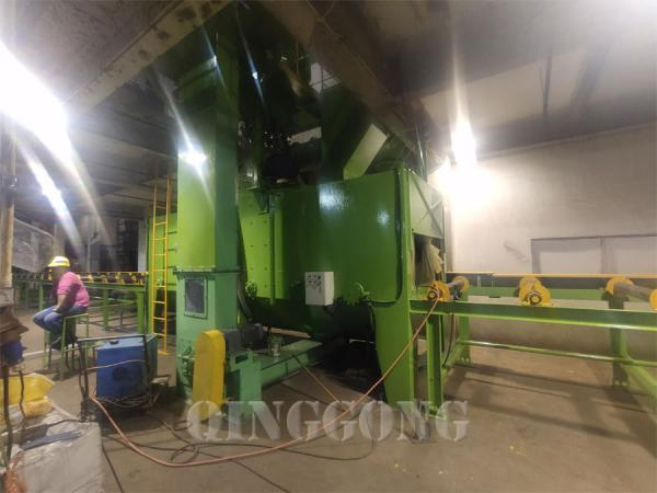 steel structure shot blasting machine 2