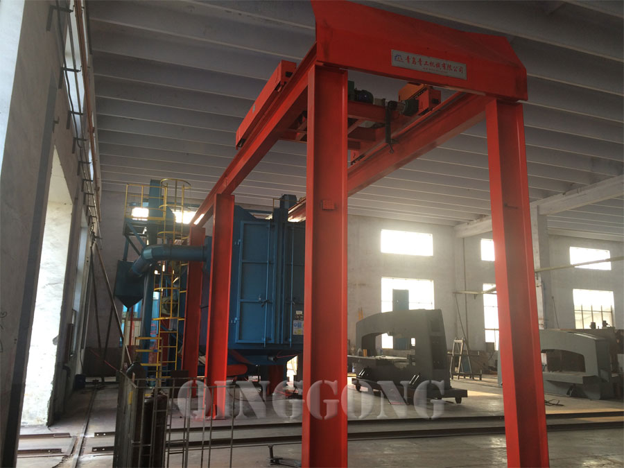 tunnel type shot blasting machine 2