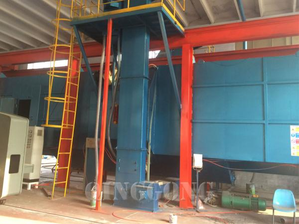 tunnel type shot blasting machine 3