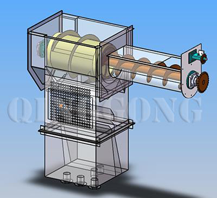 Tunnel Type Shot Blasting Machine 5